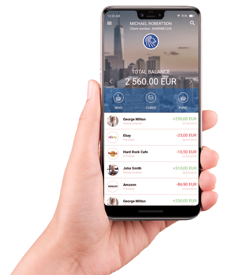 handle your finances with LeoPay